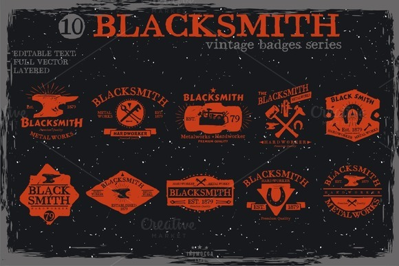 Blacksmith Badge
