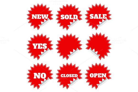 Sticker Label Sticky Shopping Ve
