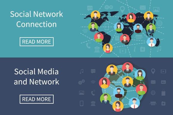 Social Media Network Connection