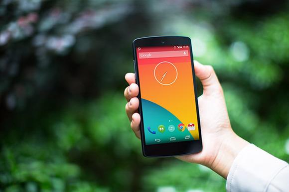 Nexus5 Template Lush Green