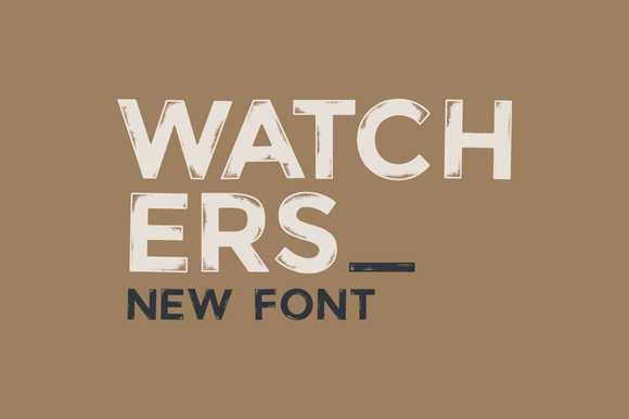 Watchers Font