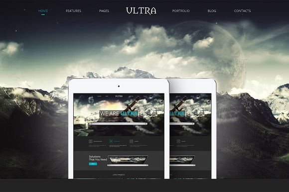 Ultra Responsive Bootstrap Template