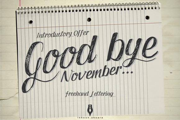 Good Bye November