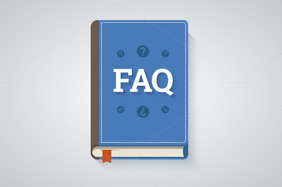 FAQ Book Illustration
