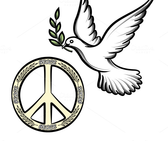 Pacific And The Dove Of Peace