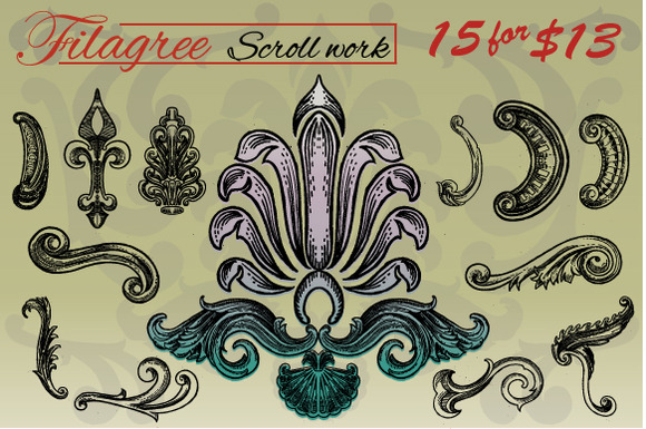 Filigree Pack
