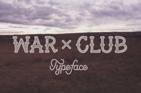 War Club Font
