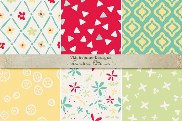 Seamless Patterns 1