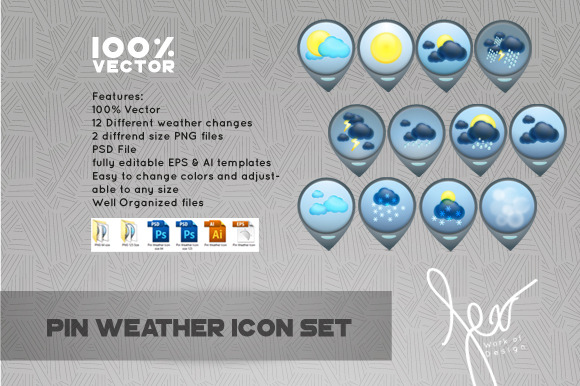 Pin Weather Icon