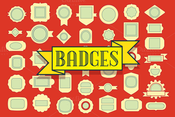 Base Of Badges Pack