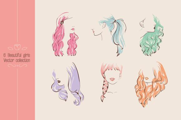 Beautiful Girls With Stylish Hair