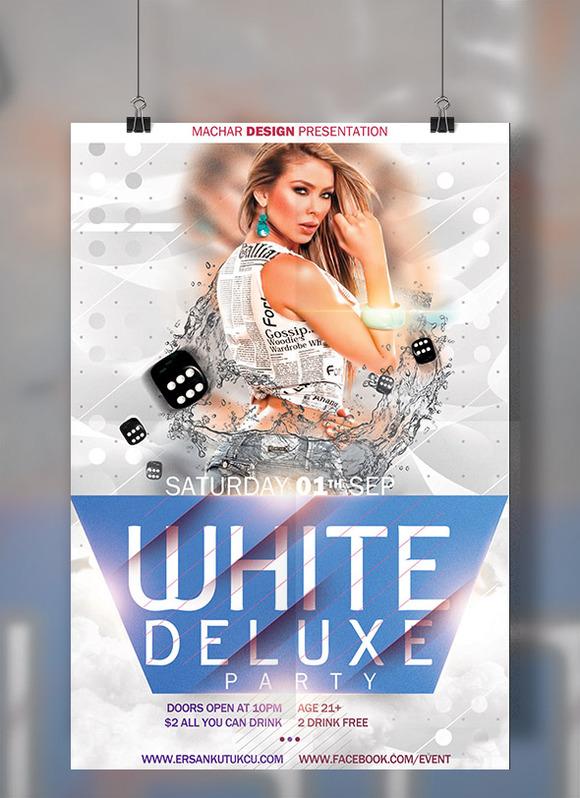 White Deluxe Flyer