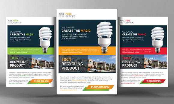 Utility Energy Flyer Template