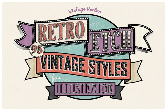 Retro Etch Vintage Styles