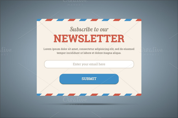 Newsletter Subscribe Form