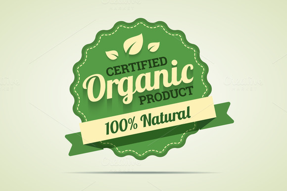 Organic Product Badge