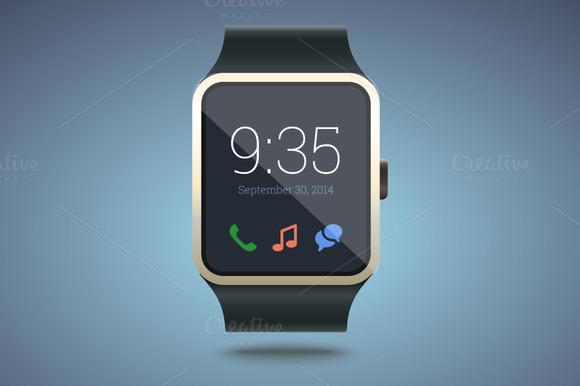 Smart Watch Vector Illustration