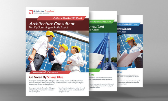 The Architect Flyer Template