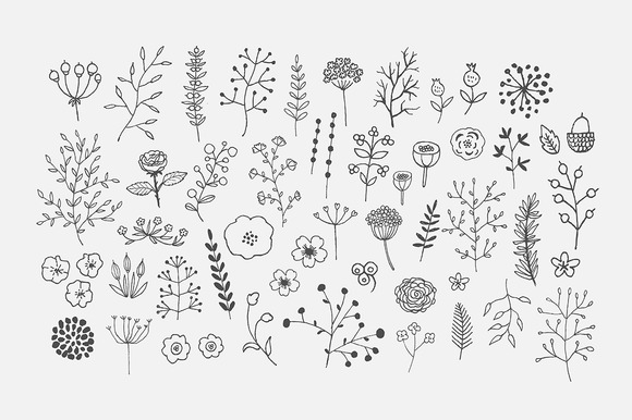 Freehand Decor PNG Pack