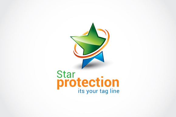 Star Protection Logo Template