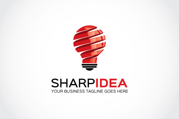 Sharp Idea Logo Template