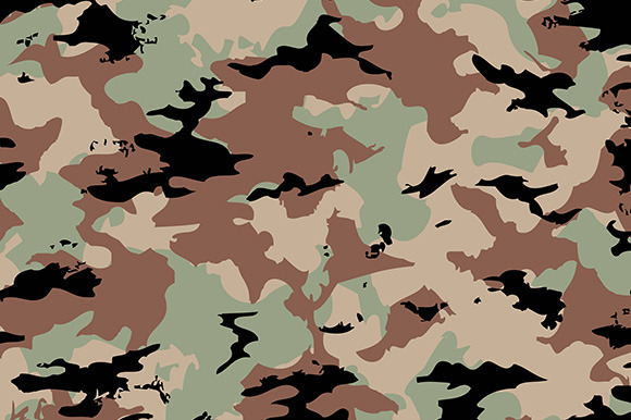 hunting camouflage powerpoint template free 187 designtube