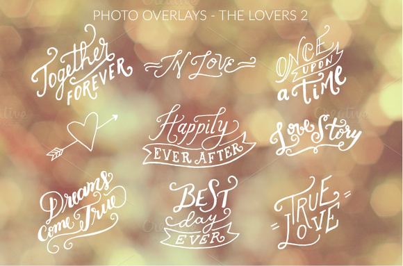 Photo Overlays The Lovers Vol 2
