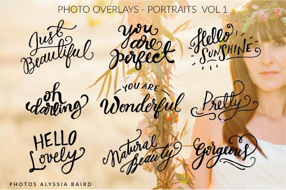 Photo Overlays Portraits