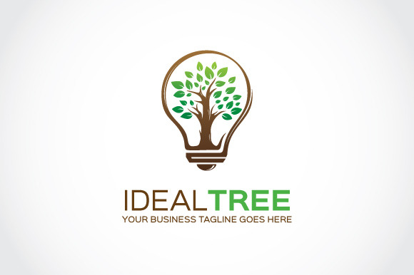 Ideal Tree Logo Template