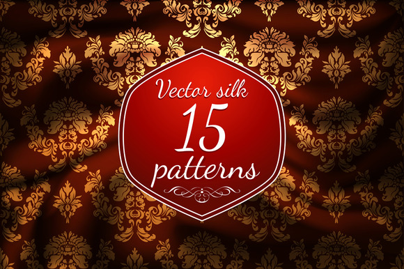 Vector Patterns Of Silk