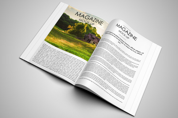 Magazine Mock Up Vol 2