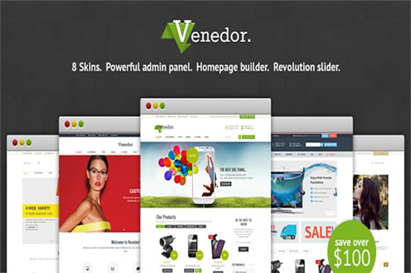 Venedor Responsive Prestashop Theme