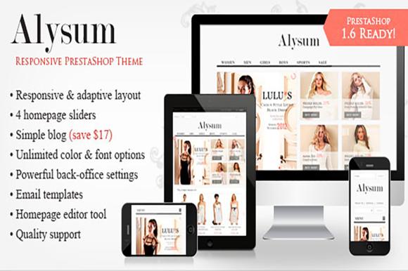 Alysum Responsive PrestaShop Theme