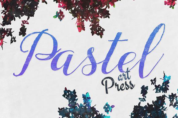 Chalk Pastels Art Press