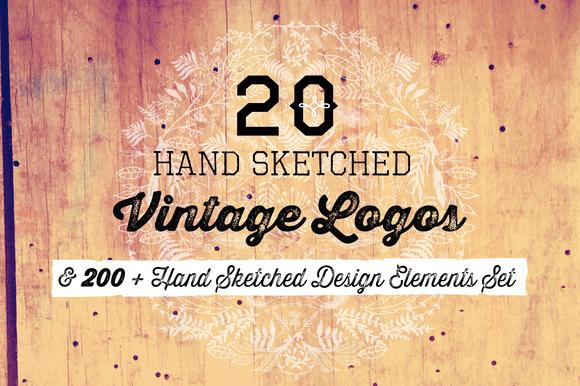 20 Logos 200 Design Elements