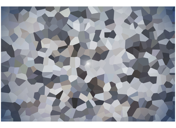 Abstract Pixel Polygonal Design