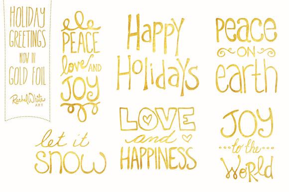 Holiday Greetings Vector PNG