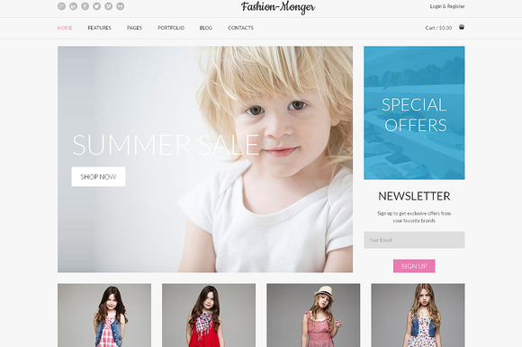 Fashion Responsive Bootstrap Theme