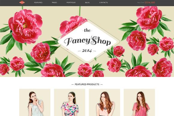 FancyShop Responsive Bootstrap Theme