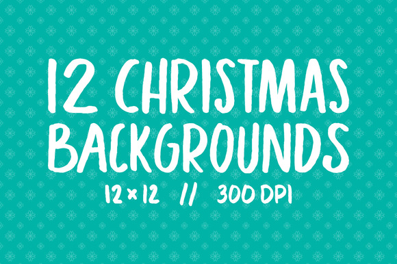 25% Off 12 Christmas Backgrounds