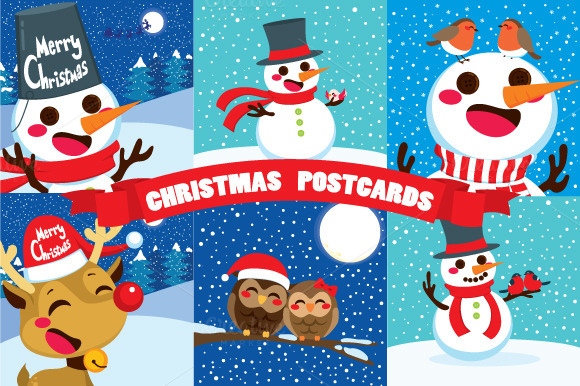 Christmas Postcards Collection