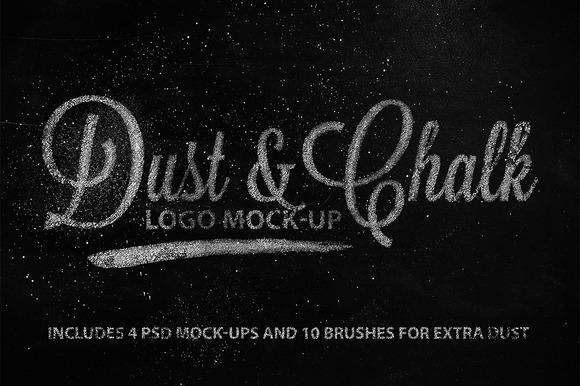 Dust Chalk Logo Mock-up
