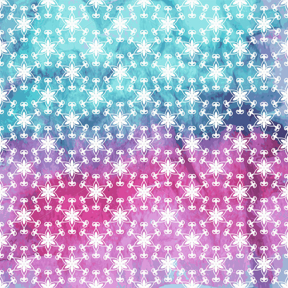 Vector Pattern With Snowflakes