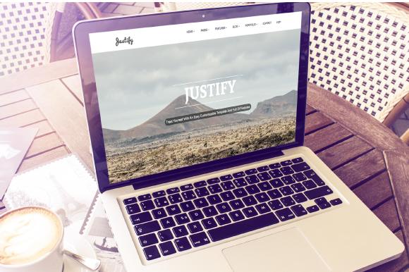 Justify Multi Purpose Bootstrap