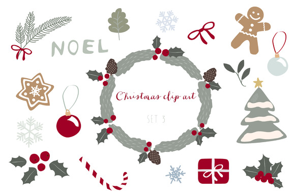 Christmas Clip Art Set 3
