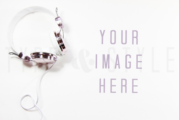 Styled Stock Photo Headphones