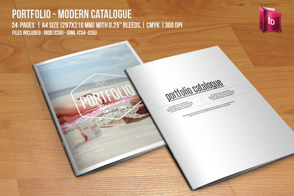 Portfolio Modern Catalogue