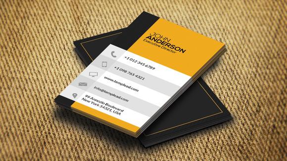 Corporate Business Card CM184