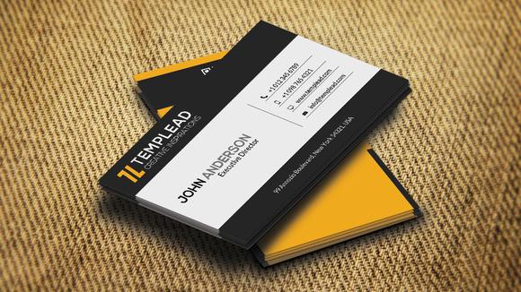 Corporate Business Card CM186