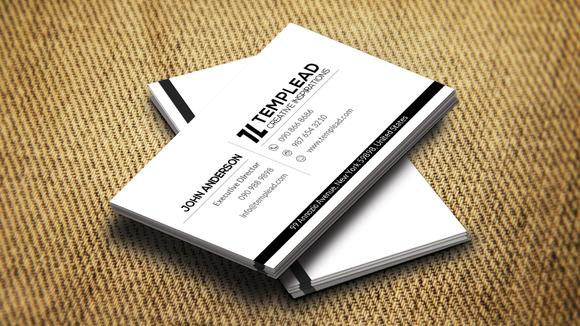 Corporate Business Card CM187